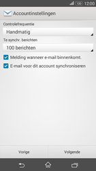 Sony Xperia E4g (E2003) - E-mail - Account instellen (POP3 zonder SMTP-verificatie) - Stap 15