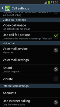 Samsung N9005 Galaxy Note III LTE - Voicemail - Manual configuration - Step 6