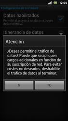 Sony Xperia U - Internet - Configurar Internet - Paso 7