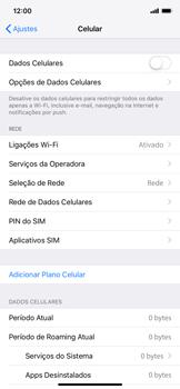 Apple iPhone XR - Rede móvel - Como ativar e desativar uma rede de dados - Etapa 5