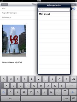 Apple The New iPad - E-mail - Hoe te versturen - Stap 7
