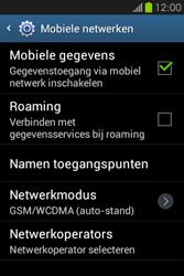 Samsung S6810P Galaxy Fame - Netwerk - gebruik in het buitenland - Stap 8