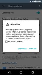 Sony Xperia XZ (F8331) - Internet - Activar o desactivar la conexión de datos - Paso 6