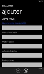 Nokia Lumia 620 - Internet - Configuration manuelle - Étape 14
