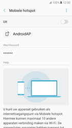 Samsung Galaxy A5 (2017) (SM-A520F) - WiFi - Mobiele hotspot instellen - Stap 11
