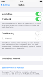 Apple iPhone 6 - Network - Change networkmode - Step 5