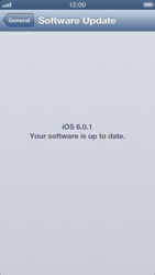 Apple iPhone 5 - Device - Software update - Step 7