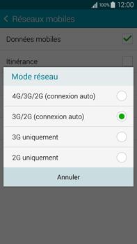 Samsung Galaxy Note 4 - Internet et connexion - Activer la 4G - Étape 7