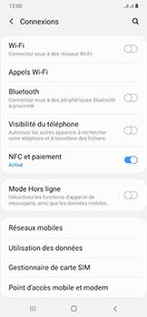 Samsung Galaxy A50 - Internet - comment configurer un point d'accès mobile - Étape 5