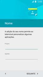 Samsung Galaxy S5 - Primeiros passos - Como ligar o telemóvel pela primeira vez -  8
