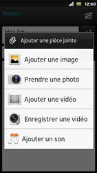 Sony ST25i Xperia U - E-mail - envoyer un e-mail - Étape 9
