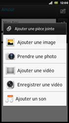Sony ST25i Xperia U - E-mail - Envoi d