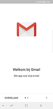 Samsung Galaxy S8 - Android Oreo (SM-G950F) - E-mail - 032a. Email wizard - Gmail - Stap 5