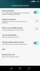 Huawei P8 Lite - Red - Seleccionar el tipo de red - Paso 7