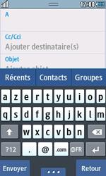 Samsung Wave 723 - E-mails - Envoyer un e-mail - Étape 5
