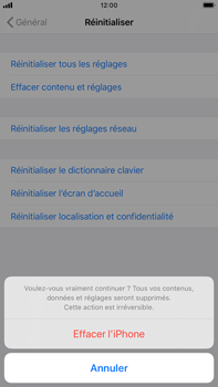 Apple iPhone 7 Plus - iOS 13 - Appareil - Restauration d