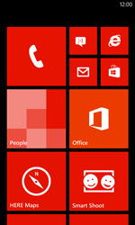 Nokia Lumia 720 - Voicemail - Manual configuration - Step 1