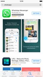 Apple iPhone 6 iOS 9 - WhatsApp - Télécharger WhatsApp - Étape 7