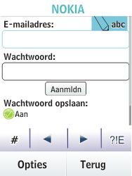 Nokia Asha 203 - E-mail - Handmatig instellen - Stap 8