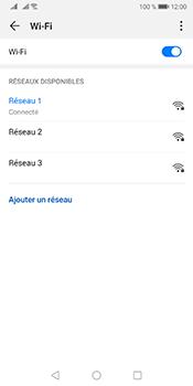 Huawei Mate 10 Pro Android Pie - Wi-Fi - Se connecter à un réseau Wi-Fi - Étape 8