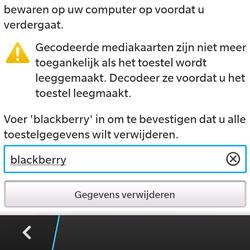 BlackBerry Q5 - Resetten - Fabrieksinstellingen terugzetten - Stap 7