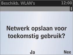 Nokia Asha 302 - Wifi - handmatig instellen - Stap 8