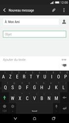 HTC Desire 620 - MMS - Envoi d