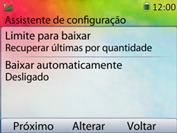 Huawei U6020 - Email - Como configurar seu celular para receber e enviar e-mails - Etapa 12