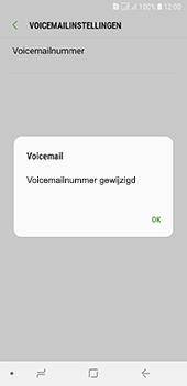 Samsung Galaxy A6 - Voicemail - handmatig instellen - Stap 12
