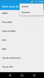 Sony Xperia Z5 - Mensajería - Configurar el equipo para mensajes multimedia - Paso 15
