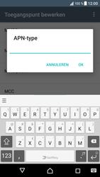 Sony Xperia XZ - Android Nougat - Internet - Handmatig instellen - Stap 14