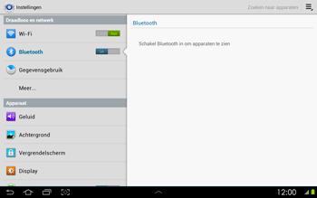 Samsung P5100 Galaxy Tab 2 10-1 - Bluetooth - koppelen met ander apparaat - Stap 7