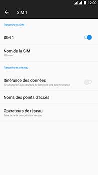 OnePlus 3 - Android Oreo - Réseau - utilisation à l'étranger - Étape 9