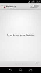 Sony D2203 Xperia E3 - WiFi and Bluetooth - Setup Blue Tooth Pairing - Step 5