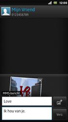 Sony ST25i Xperia U - MMS - Afbeeldingen verzenden - Stap 14