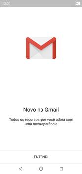 Motorola One - Email - Como configurar seu celular para receber e enviar e-mails - Etapa 4