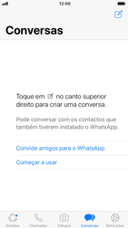 Apple iPhone 7 - iOS 12 - Aplicações - Como configurar o WhatsApp -  15