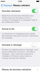 Apple iPhone 5s - Réseau - Changer mode réseau - Étape 4