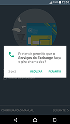 Sony Xperia XA (F3111) - Email - Adicionar conta de email -  11