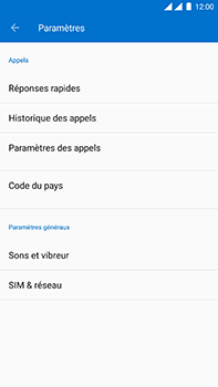 OnePlus 3 - Android Oreo - Messagerie vocale - configuration manuelle - Étape 7