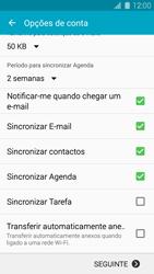 Samsung Galaxy S5 - Email - Adicionar conta de email -  8