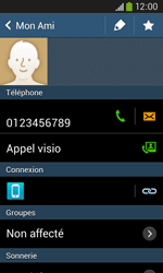 Samsung Galaxy Ace 3 - Contact, Appels, SMS/MMS - Ajouter un contact - Étape 9