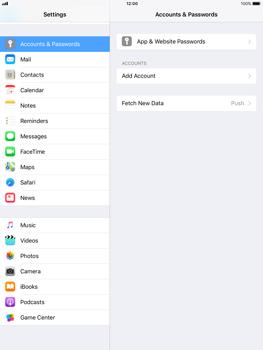 Apple iPad Air - iOS 11 - Email - Manual configuration - Step 4