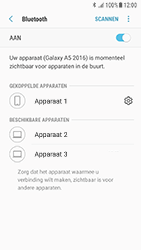 Samsung Galaxy A3 (2016) - Android Nougat - Bluetooth - koppelen met ander apparaat - Stap 11
