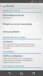 Sony Xperia Z3 Compact - Sécuriser votre mobile - Activer le code de verrouillage - Étape 5