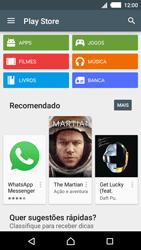 Sony Xperia M4 Aqua - Aplicativos - Como baixar aplicativos - Etapa 4