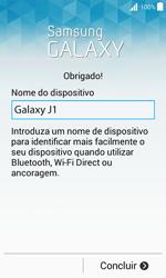 Samsung Galaxy J1 - Primeiros passos - Como ligar o telemóvel pela primeira vez -  17