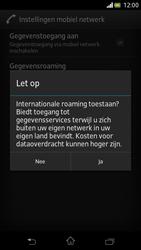 Sony LT30p Xperia T - Internet - Internet gebruiken in het buitenland - Stap 10