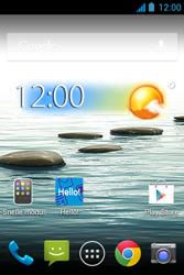 Acer Liquid Z3 - Applicaties - Applicaties downloaden - Stap 1