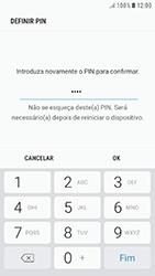 Samsung Galaxy A3 (2016) - Android Nougat - Segurança - Como ativar o código de bloqueio do ecrã -  10